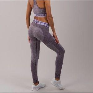 582012c349d74 Gymshark Pants | Purple Marl Pastel Lilac Flex Legging | Poshmark